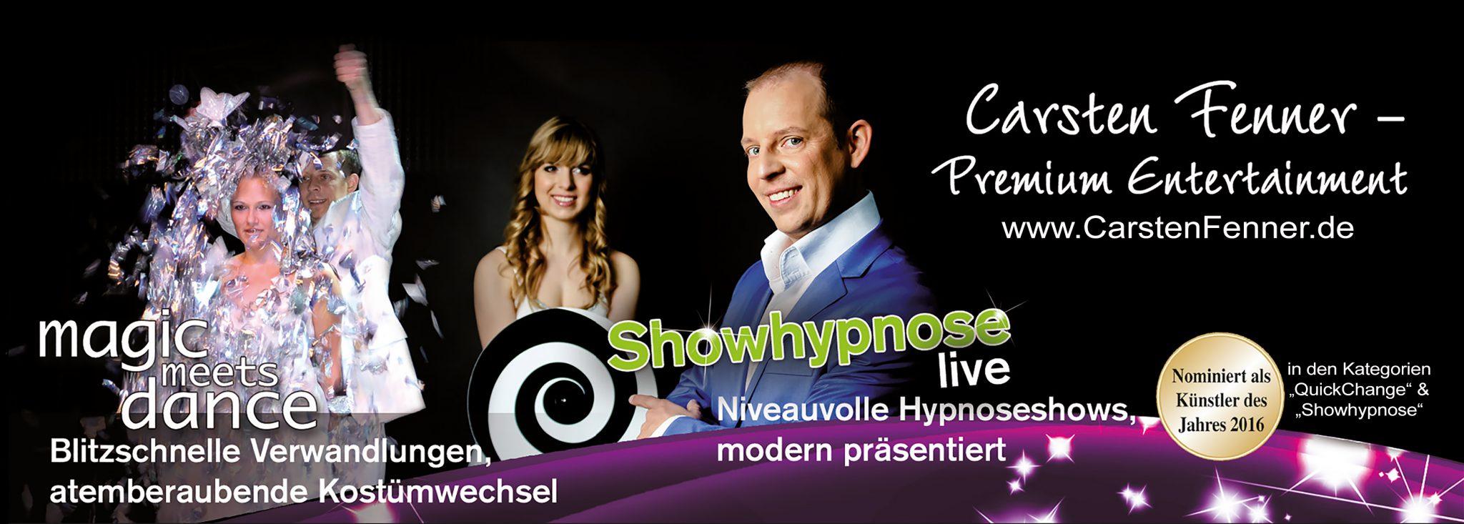 showhypnose buchen mit carsten fenner