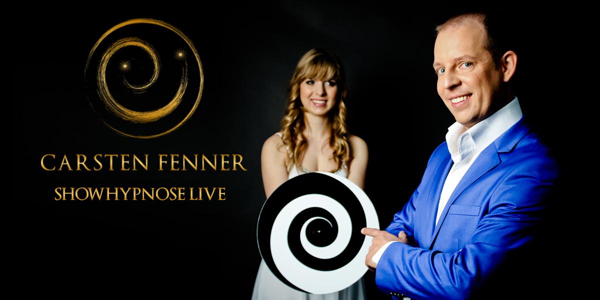 Showhypnotiseur Carsten Fenner präsentiert seine Hypnoseshow Showhypnose live
