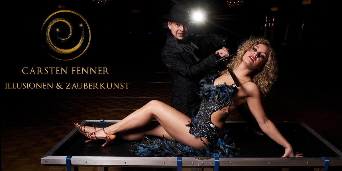 Magier & Illusionist Carsten Fenner präsentiert seine QuickChangeShow Magic meets Dance