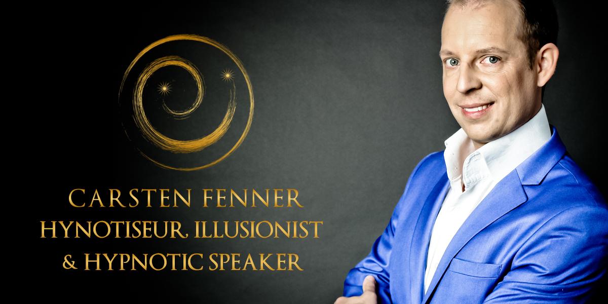 Showhypnotiseur & Magier Carsten Fenner präsentiert Hypnose & Zauberkunst